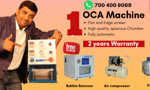 OCA Lamination Machine – Make Mobile glass Repairing Easy!