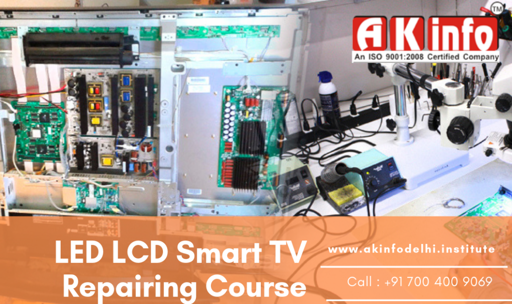 LED LCd tv repairing course delhi